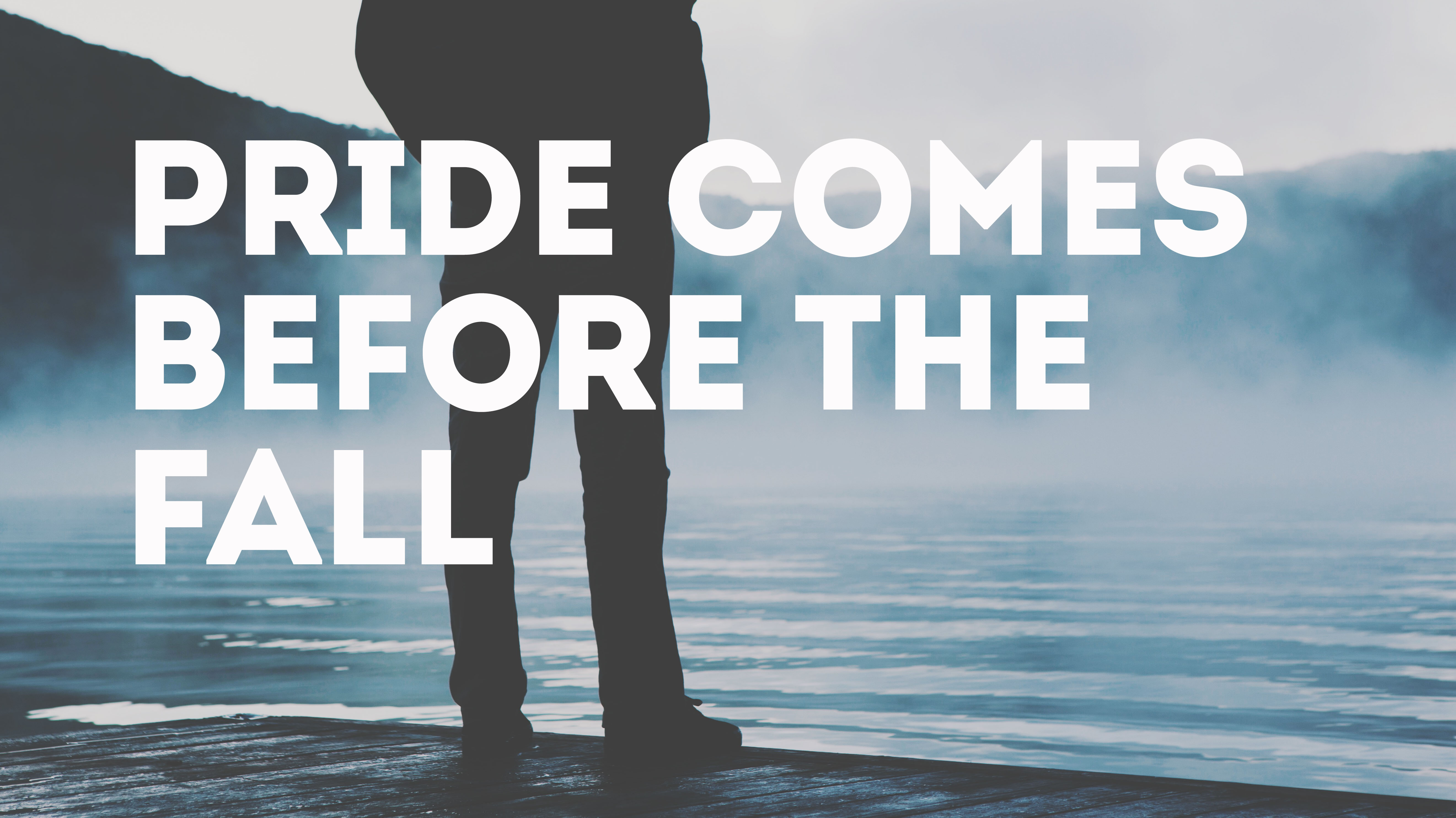 pride comes before fall This page is about the saying pride comes before a fall possible meaning: if we are too proud about ourselves or something, we will probably meet with failure or disaster when we are too self-important or conceited, something is sure to happen to make us look foolish.